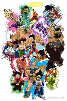 Dragon Ball Z, Saiyan Saga. Via tumblr.