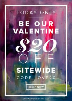 Today for Valentines Day take $20 off all of my clothing designs.  Shop here. https://shopvida.com/collections/lloydgoldstein2003
