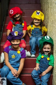 Mario Bros. Sisters - 2013 Halloween Costume Contest via @costumeworks