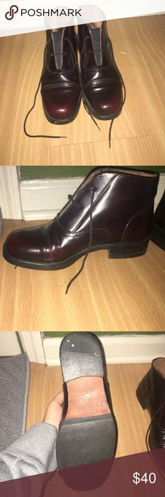 Bronx brown leather shoes Hardly ever worn leather Bronx shoes made in Italy Bronx Shoes Combat & Moto Boots