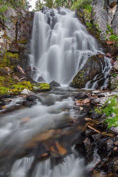 Kings Creek Falls in Lassen Volcanic National Park