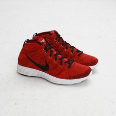 quality design b62f1 20f8e  Nike  Lunar  Flyknit  Chukka - University Red   Black  burnwilliams