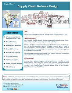 supply chain network design 14783047 by optirisk via Slideshare