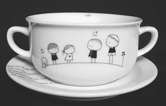 family mug (it's simple to drawn it yourself with a pen)