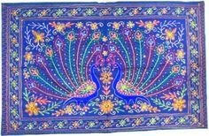 Amazon.com: Indian Wall Hanging Tapestry Ethnic India Decor 50 x 32 inches: Home & Kitchen