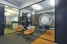 To make use of the abundance of space, inOne designed an open plan area with dedicated meeting rooms, a breakout space and an expansive 20-seat boardroom. The breakout area had magnificent black epoxy existing flooring and so, the inOne Projects team catered their renewed design of the area to highlight the subtle patterning in the flooring.