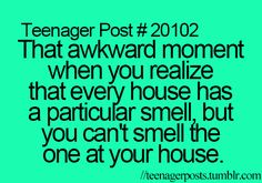 I have to be gone for a week to be able to smell mine or more prob