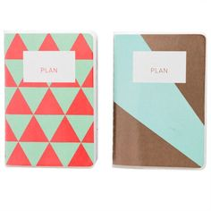 Perfect Mini Planners from Poketo.