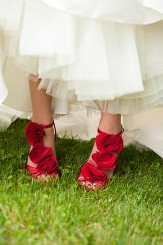 You might need sassy red shoes!