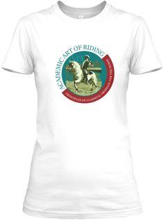 Academic Art of Riding T-Shirt.   Teespring