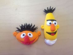 Do you recognise these guys? Easy to model with Jumping Clay.