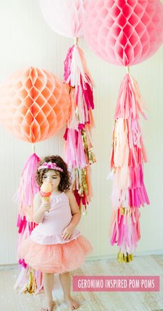 geronimo pom poms {shop sweet lulu}