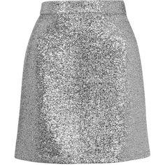 Metallic Silver Tinsel Mini Skirt by Jaded London ($52) ❤ liked on Polyvore featuring skirts, mini skirts, bottoms, saias, faldas, silver, sparkly mini skirt, mini skirt, going out skirts and short mini skirts
