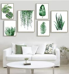 Great art deserves to be on canvas! Forget cheap looking posters and paper prints that need additional framing. Canvas offers the texture, look, and feel of fine-art paintings unmatched by any other reproduction method. Add brilliance in color and exceptional detail to your space with the contemporary and uncompromising style of canvas art. #canvas #art #green #print #leaves #plants #nature #fresh #spring #watercolor #home_decor #interior #design #wall_art #original #Nordic
