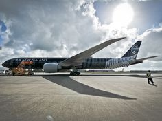 All blacks Air New Zealand