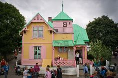 Villa Villekulla in Gotland, Sweden