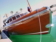 Thunderbird, 1939 55' Express Speedboat, designed by John Hacker and built by Huckins for Captain George Whittell in Lake Tahoe