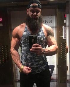 Braun Strowman, Tank Man, Mens Tops, Wrestling, Fashion, Lucha Libre, Moda, Fashion Styles, Fashion Illustrations