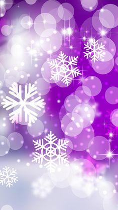 Wallpaper Plus - Cool Wallpapers, Cool Backgrounds Snowflake Wallpaper, Christmas Phone Wallpaper, Holiday Wallpaper, Winter Wallpaper, Cool Wallpaper, Purple Christmas, Christmas Art, Cool Backgrounds, Wallpaper Backgrounds