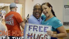 The Human Hug Project wants to visit every VA Hospital in the country.