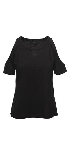 Sanctuary Lou Bare Shoulder Tee in Black / Manage Products / Catalog / Magento Admin