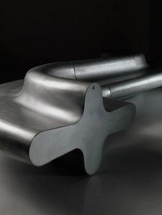 Modular aluminium bench LIQUIRIZIA by altreforme   #design Aziz Sariyer