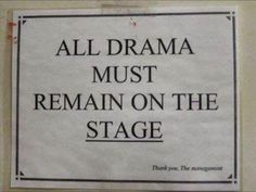 i have been through l lot of drama thats mostly not even mine. i think i love acting because i have control. so i very much agree that all drama must remain on stage. Teatro Musical, Drama Teacher, Drama Class, Drama Education, Acting Class, Niels Schneider, Neil Patrick, Teaching Theatre, Teaching Music