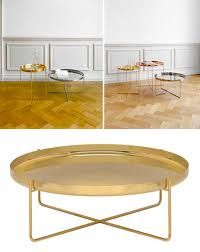 habibi table  gold for living room