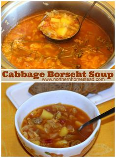 Cabbage Borscht Soup Recipe