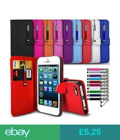 Cases & Covers Motorola Various Models Flip Wallet Book Cover Case & Retractable Stylus #ebay #Electronics