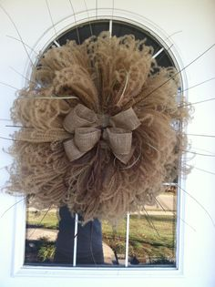 Love the softness of this Pampas grass fall wreath