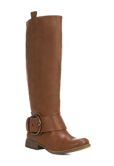 The Fabiola boot in Cognac from Just Fab.com - Ordered these for fall!