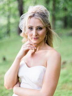 birdcage veil from Old Anglers Inn Maryland wedding Bethesda Maryland, Wedding Headpieces, Veil, Bride, Wedding Bride, Bridal, Veils, The Bride, Bridal Headdress