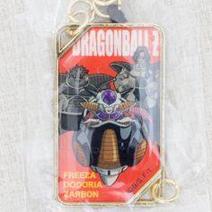 Dragon Ball Z Comics Jacket Type Metal Charm Strap Freeza Ver. JAPAN MANGA ANIME