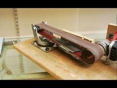 Knife Grinder, Belt Grinder, Easy Woodworking Ideas, Woodworking Workshop, Cool Tools, Diy Tools, Angle Grinder Stand, Drill Press Stand, Forging Knives