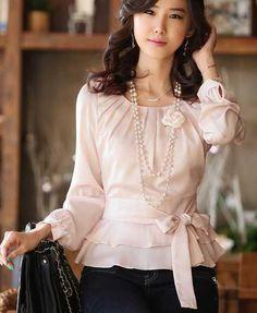блуза светло-розового цвета,нарядная Ruffle Blouse, My Style, Casual, Women, Fashion, Women's, Fashion Styles, Fasion, Fashion Illustrations