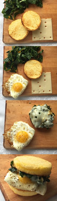 Power through your morning with a Glutino English Muffin breakfast sandwich: Egg, Swiss, and Chard!   Http://bit.ly/1GcYuR0