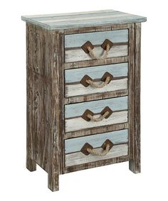 Coast to Coast Weathered Four-Drawer Chest | zulily