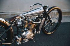 """""""KTM 250 Supercharged, by Hazan Motorworks © by Tom Teex"""" Triumph Motorcycles, Cool Motorcycles, Vintage Motorcycles, Bobber Motorcycle, Bobber Chopper, Nitro Circus, Custom Harleys, Custom Bikes, Monster Energy"""