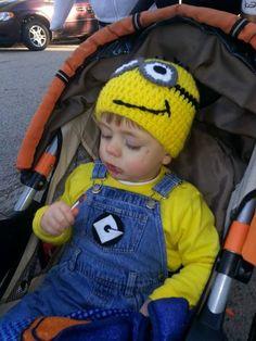 Kids Minion Costume!