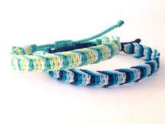 Macrame Bracelet/Men's Macrame Bracelet/Surf by MACRANI on Etsy