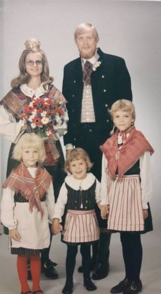 Bröllop i Bollnäs, Hälsingland. 1970-tal.