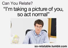 I do this sometimes because I feel like I look like a complete idiot if I do anything different