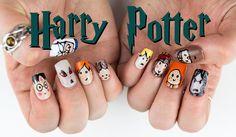 Nail Art para esperar el estreno de Harry Potter y el niño maldito - http://xn--decorandouas-jhb.com/nail-art-para-esperar-el-estreno-de-harry-potter-y-el-nino-maldito/