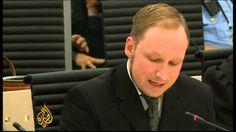 """Al-Jazeera dà l'annuncio che Breivik non si appellerà contro la sentenza di condanna e trasmette il momento in cui lo stragista si dice """"dispiaciuto di non avere ucciso ancor più persone"""", venendo interrotto dalla giudice."""