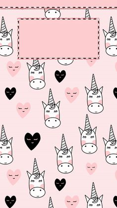 Ideas For Unicorn Wallpaper Iphone Backgrounds Pink Dog Wallpaper Iphone, Tumblr Wallpaper, Pink Wallpaper, Pattern Wallpaper, Wallpaper Backgrounds, Iphone Backgrounds, Unicorn Lockscreen, Unicorn Wallpaper Cute, Binder Cover Templates