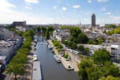 Nantes - vue de l'Erdre