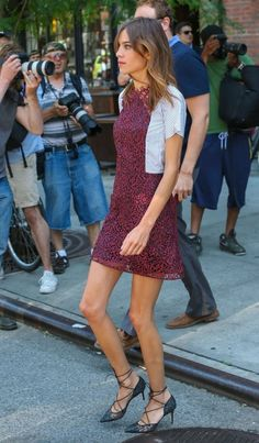 Alexa Chung Photos: Alexa Chung Steps Out in NYC