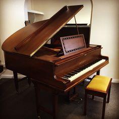 1920's Broadwood Baby Grand restored by Chiltern Pianos, Bovingdon.