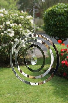Circles Wind Spinner with Crystal                                                                                                                                                                                 More